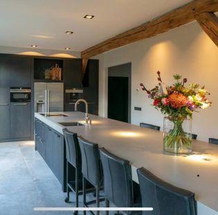 Keukenblad betonlook
