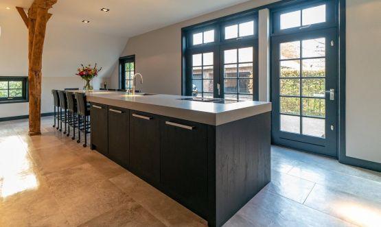 Betonlook keukens en werkbladen